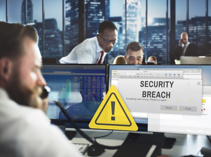 security breach city business scene